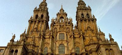Catedral de Santiago de Compostela próximo al Parking San Fernando